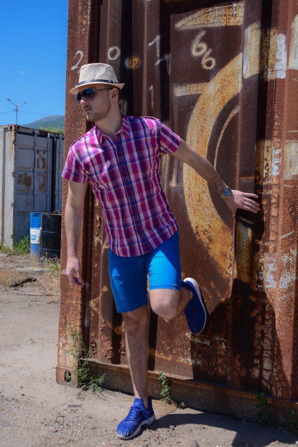 мъжки ризи, къс ръкав, спортни ризи, летни, лято, карирани ризи