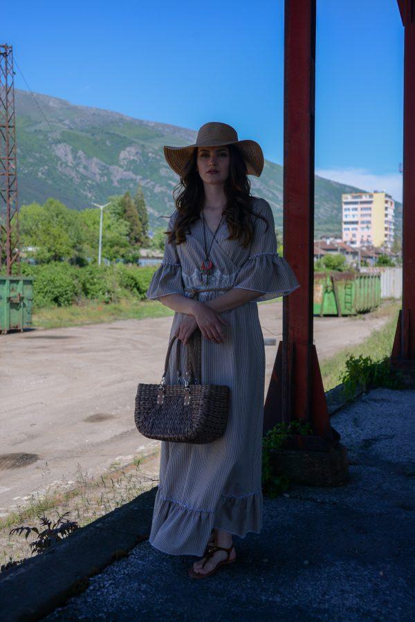 дамска рокля, лятна рокля,памучна рокля, лято